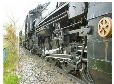 仙台新幹線車両基地展示車両C58-365-7