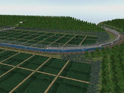 VRM3版気動車さん越河東北本線練習全景1