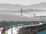 仮想津軽海峡線複線S字化工事21