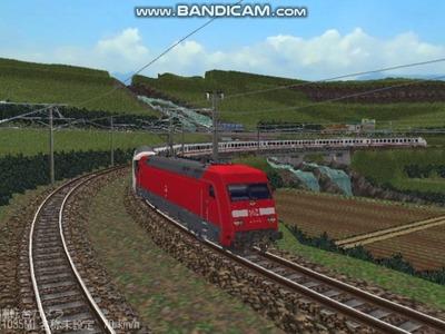 越河レイアウト特急シリーズ57-ドイツ国鉄IC-ECColor-6