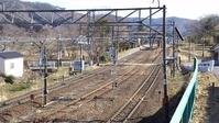 東北本線越河駅ホーム仙台方向終端2