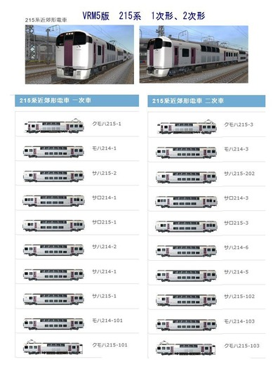 越河レイアウト特急シリーズ20-215系湘南ライナー9