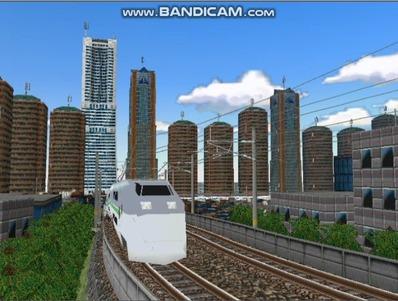 新幹線勾配区間走行E1系Max-1