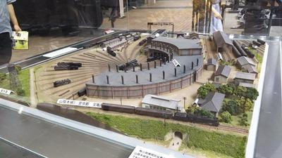 京都鉄道博物館174-梅小路転車台ジオラマ3