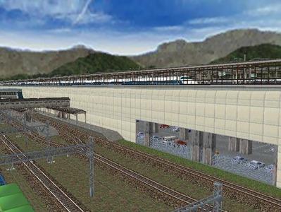新幹線本線部分制作途中5