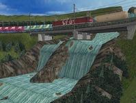 東北本線越河南トンネル大滝9