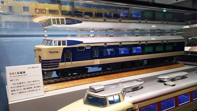 京都鉄道博物館129-581系電車月光