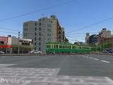 仙台市電レイアウト原の町線144.