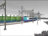 雪景色と貨物交換駅485系1.jpg