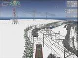 雪景色完成その26見張線10