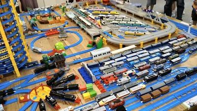 鉄道模型運転会2019プラレール4