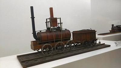 鉄博71−初代?蒸気機関車