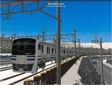進撃の通勤電車40  JRE217系二階建て6