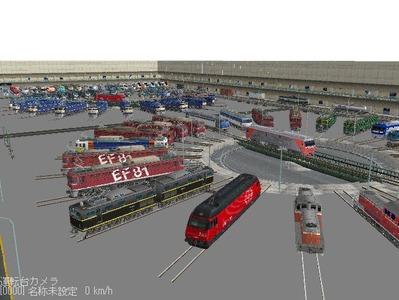 VRM3版車両博物館機関車ターンテーブル7