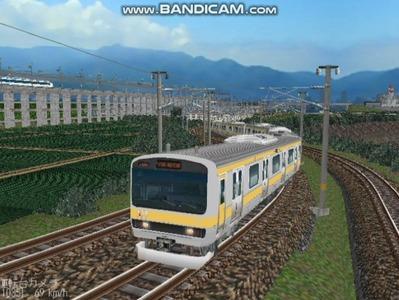 越河レイアウト電車シリーズ73-E231系総武線2