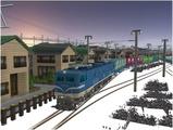 雪景色完成その12 EF58-138-5