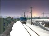 雪景色完成その12 EF58-138-6
