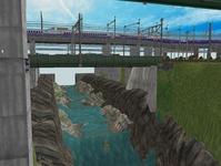 3300X700�レイアウト河川を作る6