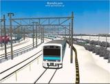 進撃の通勤電車37  JR209系ブルー6