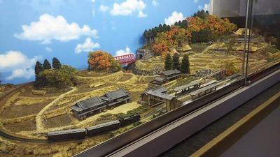 京都鉄道博物館180-ローカル風景ジオラマ3