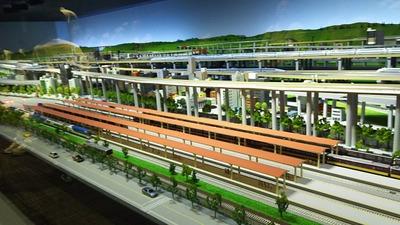 京都鉄道博物館9ジオラマ7