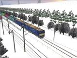 雪景色完成その7