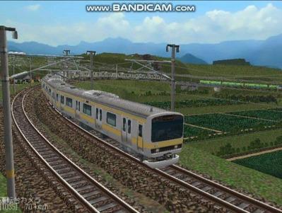 越河レイアウト電車シリーズ73-E231系総武線8
