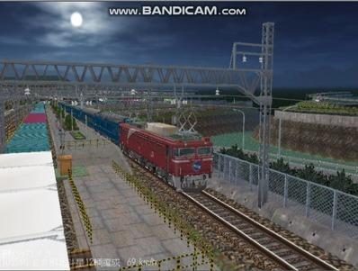 越河レイアウト夜汽車シリーズ6-EF8181北斗星2