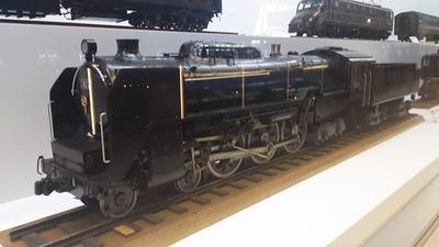 鉄博64−C62蒸気機関車