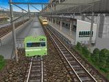 3欲張り新幹線レイアウト踏切道部分101