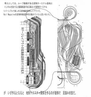 スルーガータ曲線リバーシブルレイアウト完成版図3