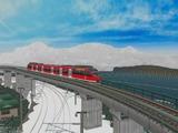 待避線レイアウト追加ローカル線ドイツ鉄道644気動車4