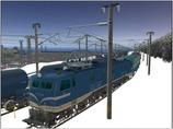 雪景色完成その12 EF58-138-3