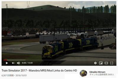 アメリカンディーゼル機関車Trainz動画4