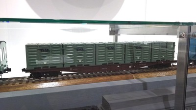 京都鉄道博物館105コキ5500形貨車1