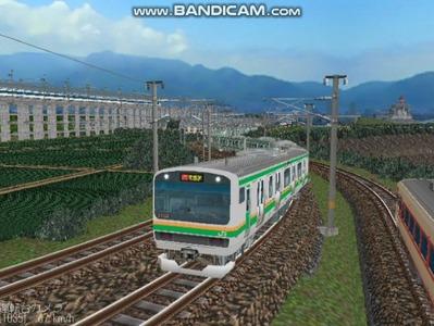 越河レイアウト電車シリーズ75-E231系近郊電車2