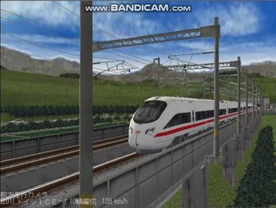 越河レイアウト東北新幹線ICI-T411-3