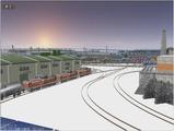 雪景色完成その23 DD13三重連5