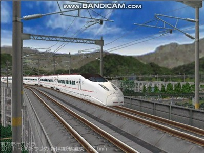 越河レイアウト東北新幹線800系つばめ6