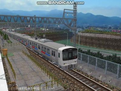 越河レイアウト電車シリーズ67-811系JR九州電車3