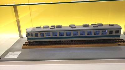 京都鉄道博物館83国鉄電車153系1