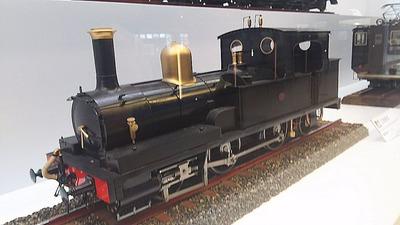 鉄博69−1800形蒸気機関車?