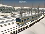 進撃の通勤電車4 E231系3