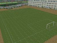 越河駅レイアウト高校サッカーグランド12