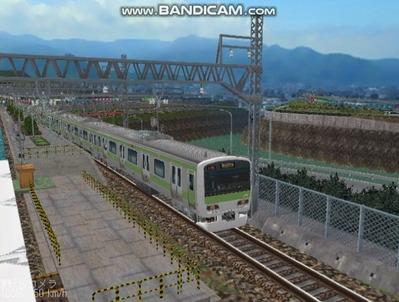 越河レイアウト電車シリーズ74-E231系山手線3
