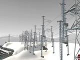 雪景色と貨物交換駅レイアウト39.jpg