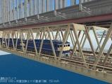 瀬戸大橋1000トン試験3