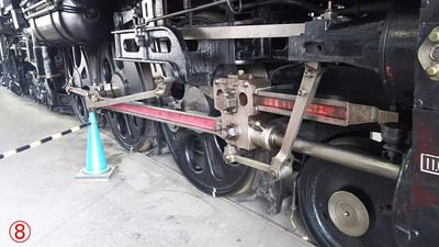 94C58-1動輪部分から9梅小路機関庫8
