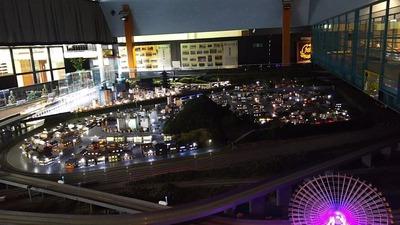 ジオラマ京都HOゲージ夜景その9