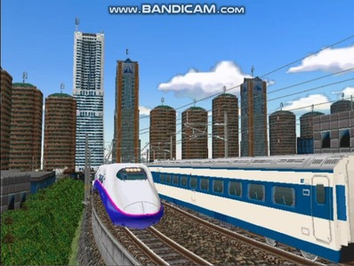 新幹線勾配区間走行E2系はやて-1